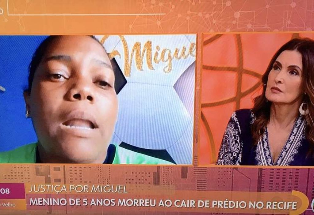 Fátima Bernardes e Mãe de Miguel