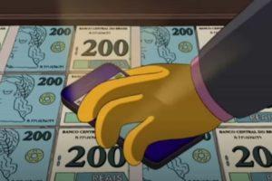 Internautas lembram que 'Os Simpsons' previram nota de R$ 200