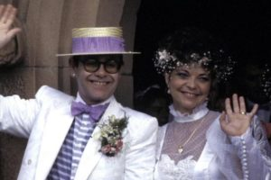Elton John e Renate Blauel