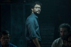 Álvaro Morte, o Professor de 'La Casa de Papel', mostra gravação da 5ª temporada da série