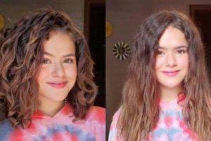 Maisa Silva corta o cabelo e retoma cachos após transição capilar