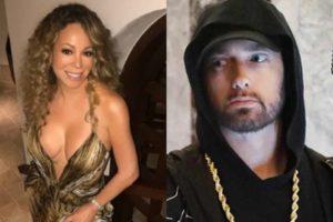 Eminem estaria com medo de Mariah Carey revelar em biografia que ele é ruim de cama