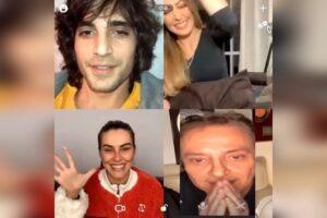 Cleo e irmãos desejam feliz Dia dos Pais a Fabio Júnior pelo Instagram