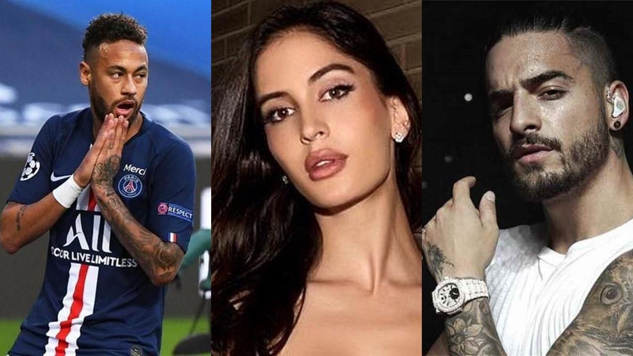 Maluma nega desentendimento com Neymar por causa de ex