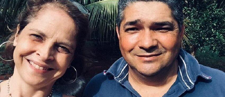 Drica Moraes e Adilson Rodrigues, homem que doou medula óssea para a atriz - Foto: reprodução @oficialdricamoraes